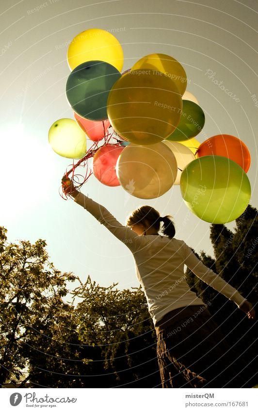 Having Fun. Freude Ferien & Urlaub & Reisen Freiheit Gefühle Glück Mensch träumen Zufriedenheit Freizeit & Hobby elegant Design Erfolg planen ästhetisch