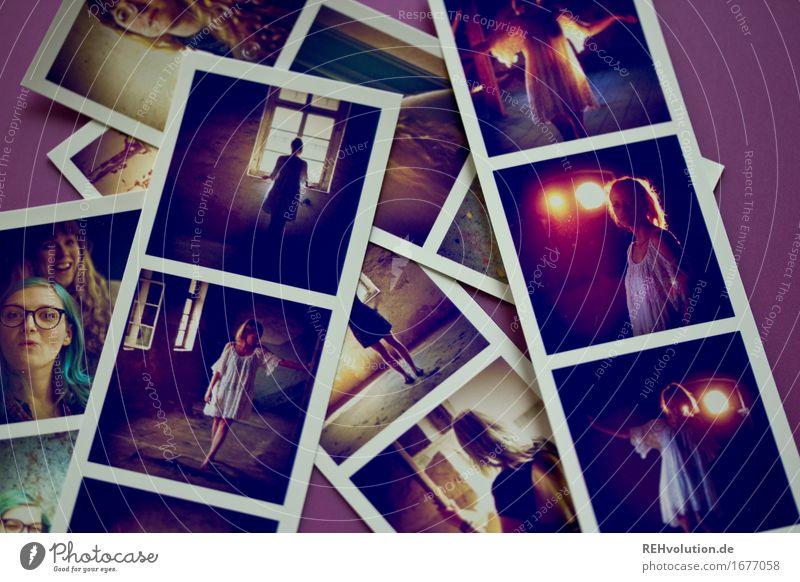 Fotos von Fotos Stil Freizeit & Hobby Mensch feminin Junge Frau Jugendliche Erwachsene 3 18-30 Jahre liegen Coolness trendy violett Gefühle einzigartig
