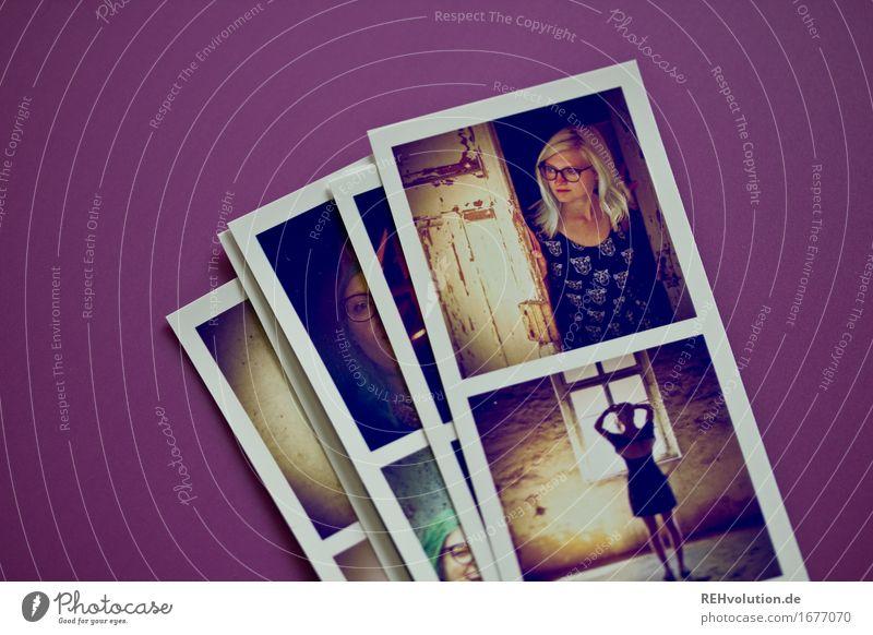 Fotos von Fotos (Jule) Freizeit & Hobby Mensch feminin 1 18-30 Jahre Jugendliche Erwachsene liegen außergewöhnlich blond Coolness trendy schön Fotografie Bild