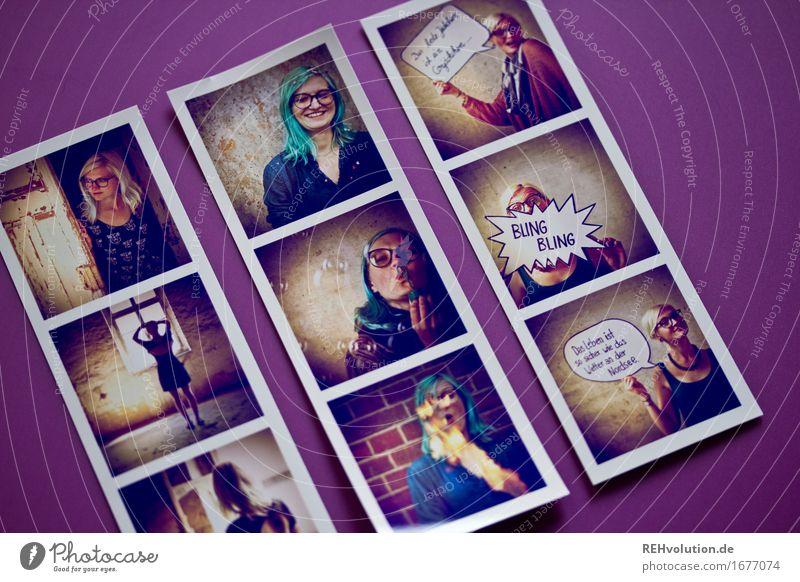 Fotos von Fotos (Jule) Mensch Jugendliche Junge Frau Freude 18-30 Jahre Erwachsene feminin Stil Glück außergewöhnlich Haare & Frisuren Stimmung Design liegen