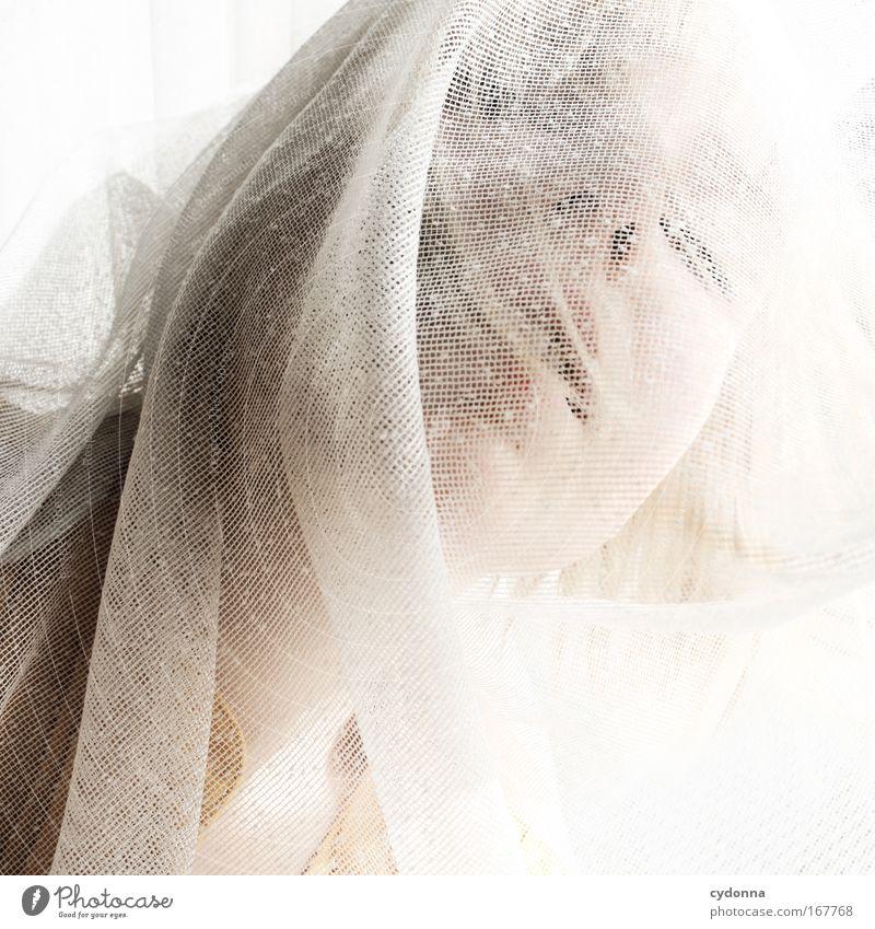 Verschmelzung Frau Mensch Jugendliche schön Gesicht Erwachsene Leben Gefühle Freiheit Kopf Bewegung Traurigkeit träumen elegant ästhetisch planen