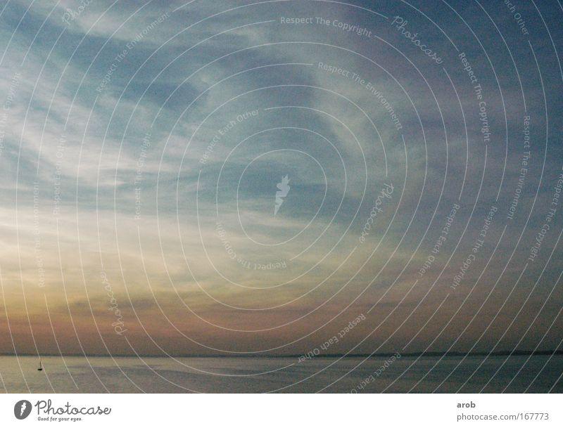 chillnundgrilln Wasser Himmel Wolken Deutschland Europa geheimnisvoll