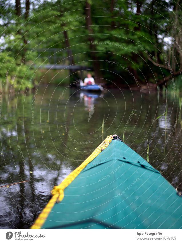 im Hals Freizeit & Hobby Ferien & Urlaub & Reisen Ausflug Sommerurlaub Sport Fitness Sport-Training Wassersport Faltboot Natur Schönes Wetter Seeufer Flussufer