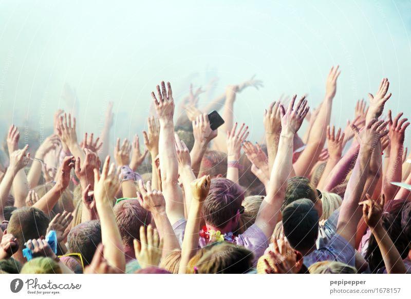 party Freizeit & Hobby Party Veranstaltung Musik Diskjockey Feste & Feiern clubbing Tanzen Jugendliche Menschenmenge 18-30 Jahre Erwachsene Tanzveranstaltung