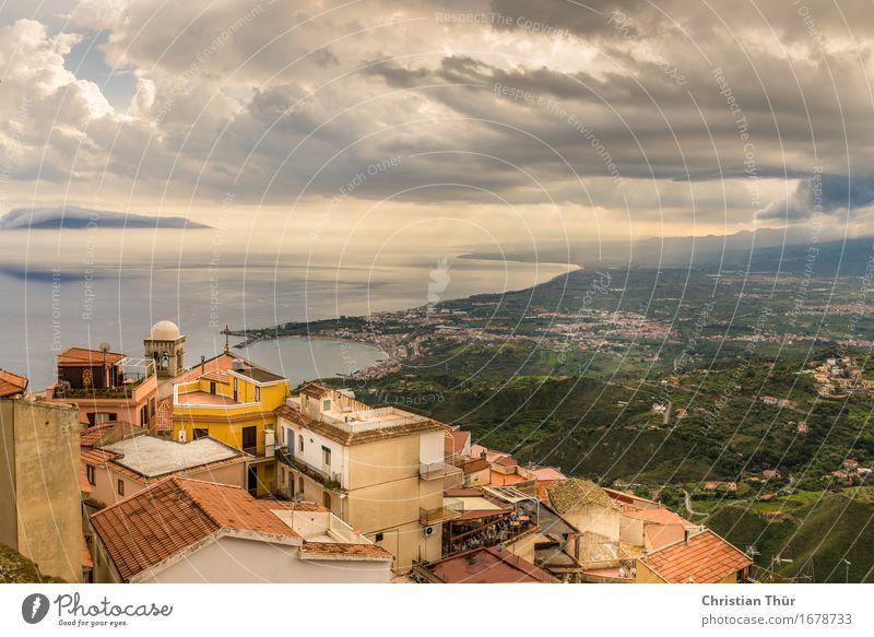 Taormina / Castelmola / Sizilien harmonisch Wohlgefühl Zufriedenheit Sinnesorgane Erholung ruhig Ferien & Urlaub & Reisen Ausflug Ferne Freiheit Sightseeing