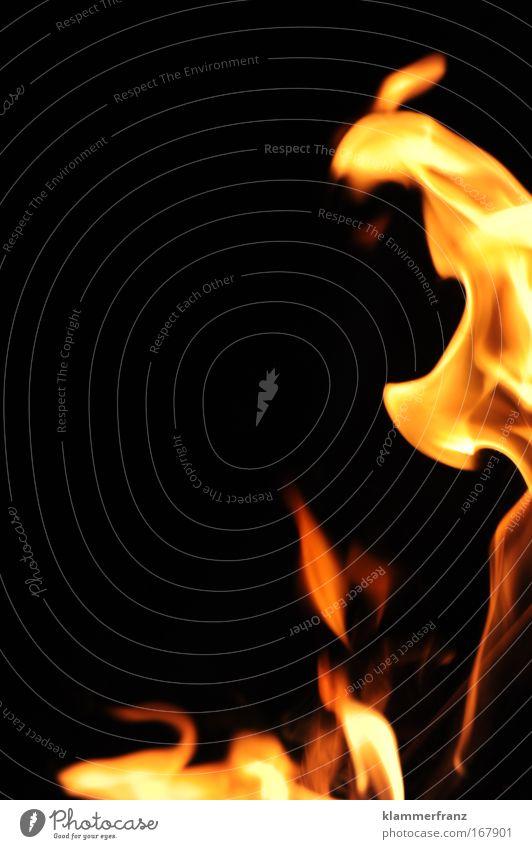 Der Aufbruch - Feuer zerstört und ermöglicht neues Leben schön gelb Tod Leben Gefühle Freiheit Bewegung hell Feste & Feiern Kraft Tanzen Angst Feuer bedrohlich Urelemente Warmherzigkeit