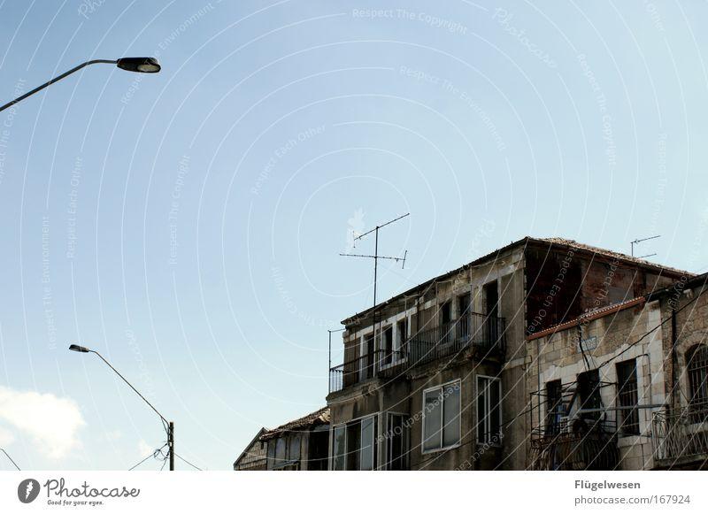 City of Jeruschalajim alt Haus Fassade Laterne Umzug (Wohnungswechsel) Balkon Straßenbeleuchtung Renovieren Naher und Mittlerer Osten Altbau Israel