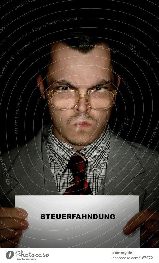 ...klopf, klopf... Mensch Mann Gesicht Auge Haare & Frisuren Kopf Mund Business Haut Erwachsene maskulin Nase Porträt Behörden u. Ämter Brille Lippen