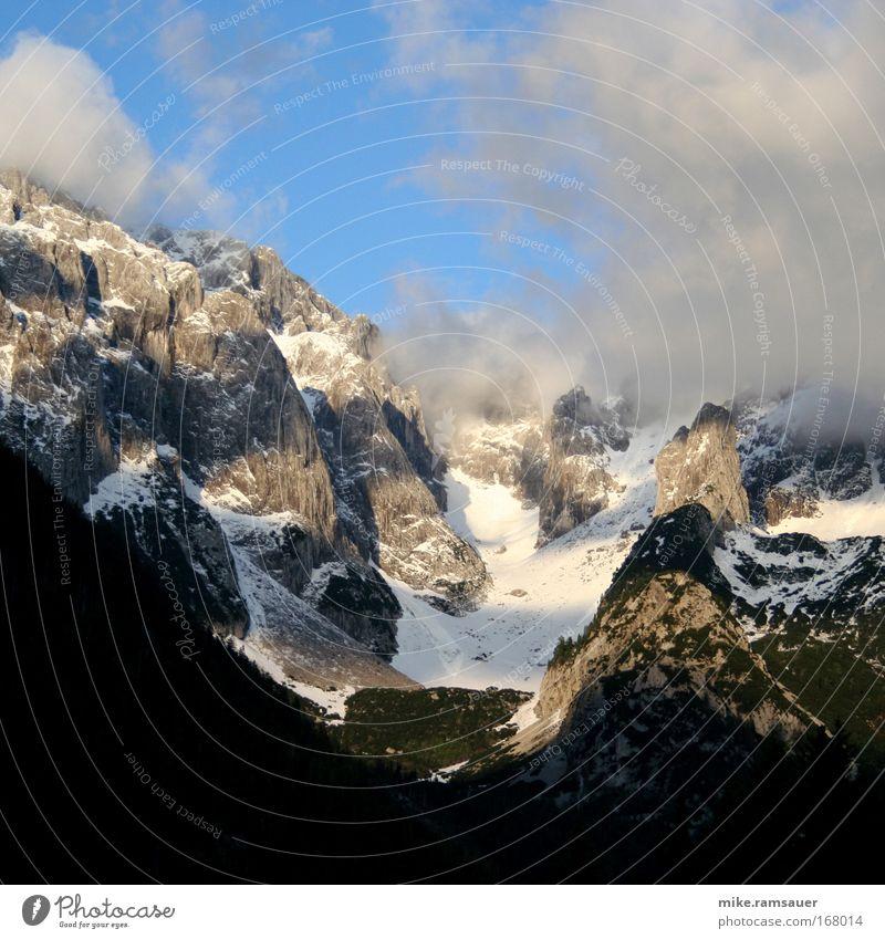 Angezuckert I Natur Wasser Himmel Wolken Schnee Herbst Berge u. Gebirge Frühling Regen Landschaft Luft Nebel Wind Wetter Felsen authentisch