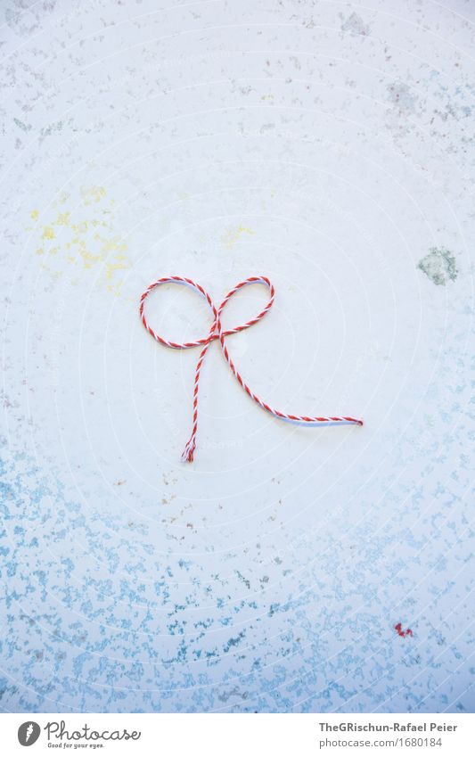 Geschenkmasche blau grün weiß rot Freude Hintergrundbild Kunst grau orange rosa Dekoration & Verzierung Geschenk türkis Nähgarn schenken Farbfleck