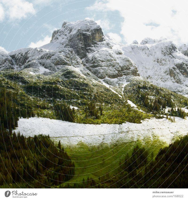 Angezuckert II Himmel Natur Baum Sonne Sommer Wolken Winter Schnee Freiheit Herbst Berge u. Gebirge Landschaft Umwelt Frühling Wetter Eis
