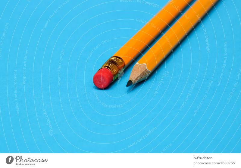 hinten und vorne blau orange Erfolg Spitze Papier Sitzung Schreibstift Schreibwaren Ordnungsliebe Radiergummi