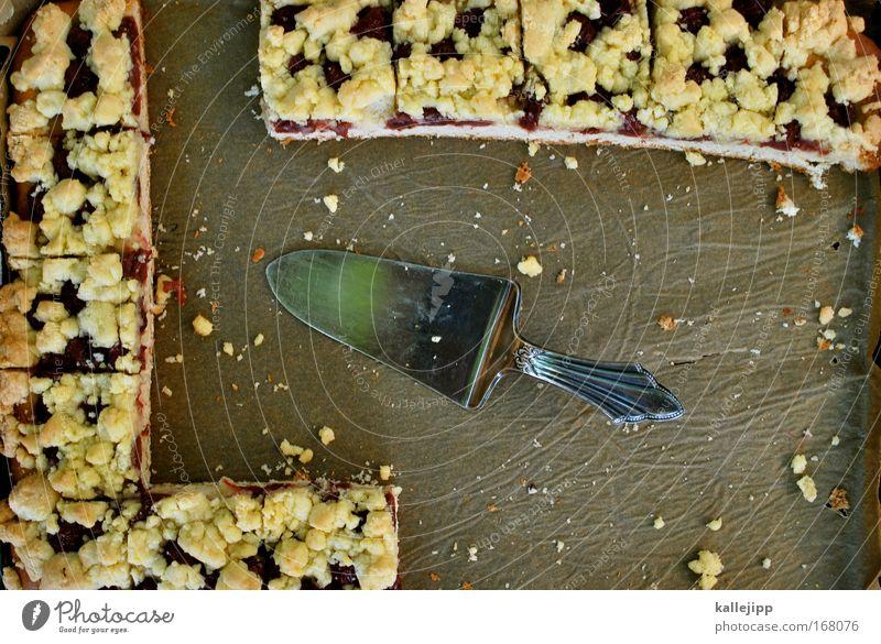 ich hab kuchen gemacht... Lebensmittel Teigwaren Backwaren Kuchen Süßwaren Ernährung Bioprodukte Besteck Veranstaltung Restaurant füttern gut lecker dünn silber