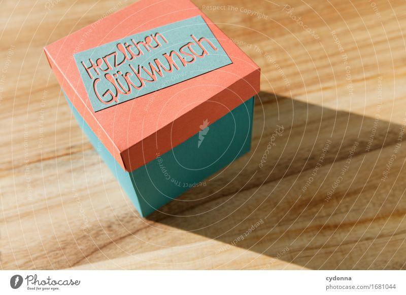Herzlichen Glückwunsch Lifestyle kaufen Design Feste & Feiern Hochzeit Geburtstag Handel Karriere Erfolg Schriftzeichen Beratung einzigartig Erwartung