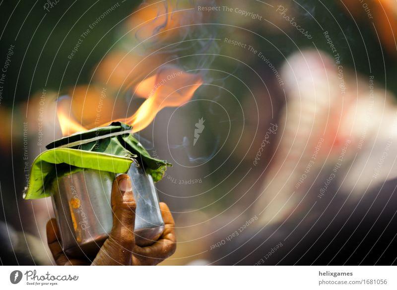 religiöses Feuer Ferien & Urlaub & Reisen Feste & Feiern Religion & Glaube Hinduismus Madurai Shiva Stadtfest Flamme Hinduismusurlaub Indien Angebot Südindien