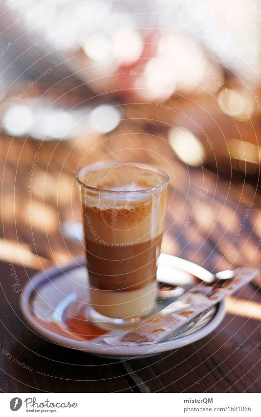 Süßer Schock. Kunst ästhetisch ruhig ruhen Café Kaffee Kaffeetasse Kaffeetrinken Kaffeepause Espresso lecker mediterran Ferien & Urlaub & Reisen Urlaubsstimmung