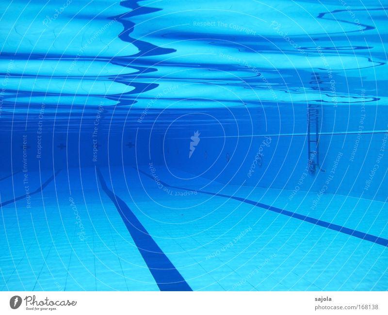 / \ \ ' pool Wasser blau Freude Sport Perspektive Schwimmbad Boden Freizeit & Hobby Fliesen u. Kacheln Leiter Urelemente Wassersport Wasseroberfläche