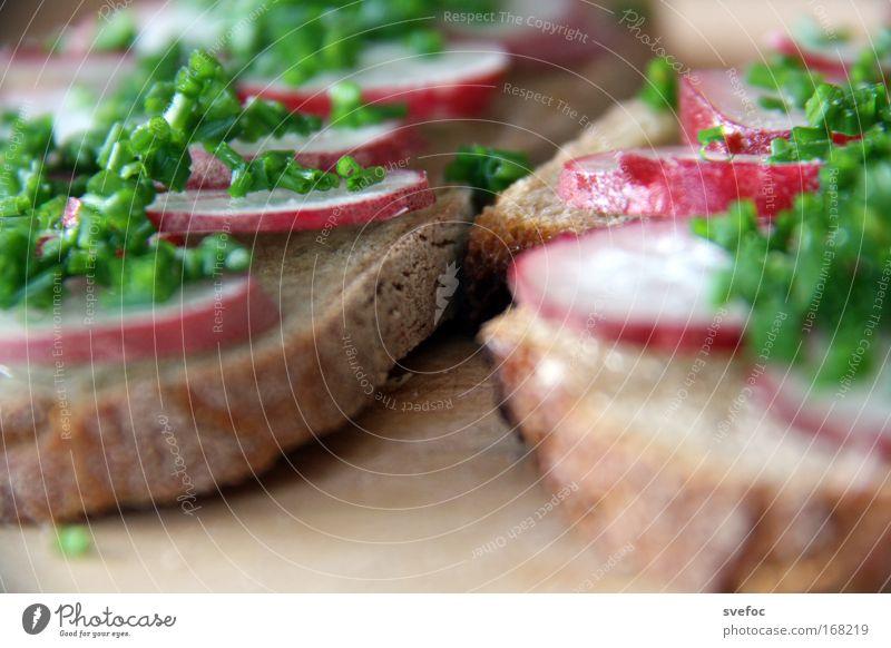Eat this Farbfoto Nahaufnahme Detailaufnahme Menschenleer Schwache Tiefenschärfe Lebensmittel Gemüse Teigwaren Backwaren Brot Kräuter & Gewürze Abendessen