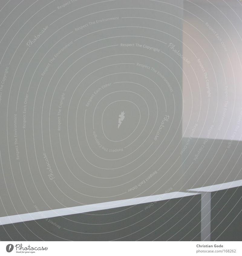 Lichtraumzeichung weiß schwarz Wand Architektur grau Gebäude Mauer Kunst rund Bauwerk Sauberkeit München Geländer Museum Bayern