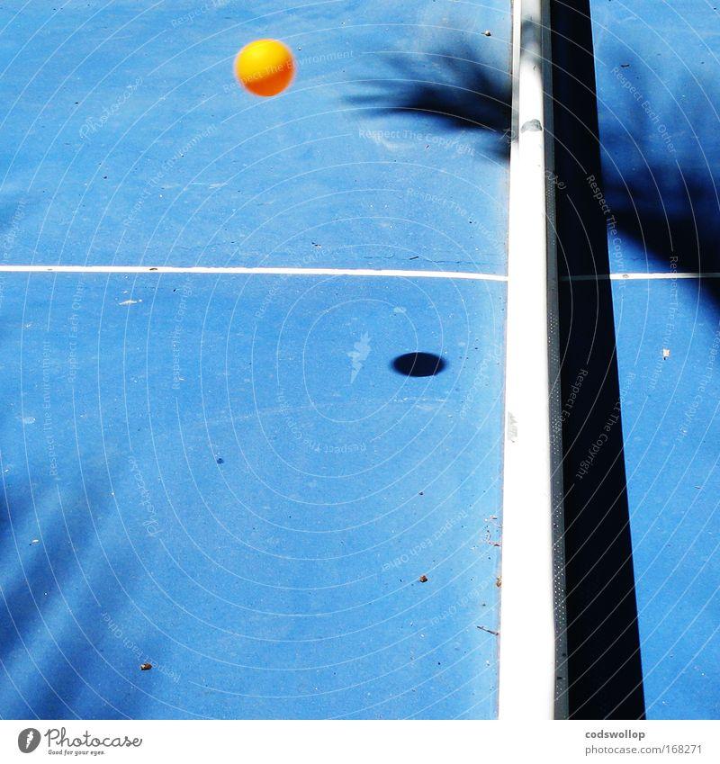 CDR of 0.88 blau Sport Spielen Linie fliegen Ball Sportveranstaltung Tischtennis Tischtennisplatte Tischtennisball