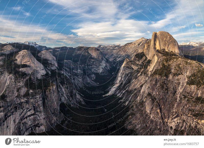 naturgewaltig Ferien & Urlaub & Reisen Abenteuer Ferne Berge u. Gebirge Umwelt Natur Landschaft Himmel Wolken Horizont Sommer Klima Klimawandel Schönes Wetter