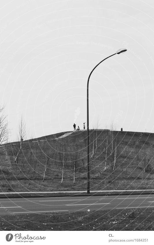 standort Mensch Leben 3 Umwelt Natur Himmel Hügel Verkehr Verkehrswege Straßenverkehr trist Langeweile Freizeit & Hobby Gesellschaft (Soziologie) Pause