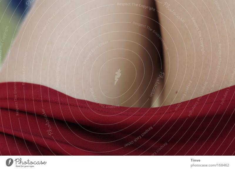 Morgenrot Frau nackt schön Sommer Erholung Erotik ruhig Erwachsene natürlich feminin Beine elegant ästhetisch Bekleidung weich