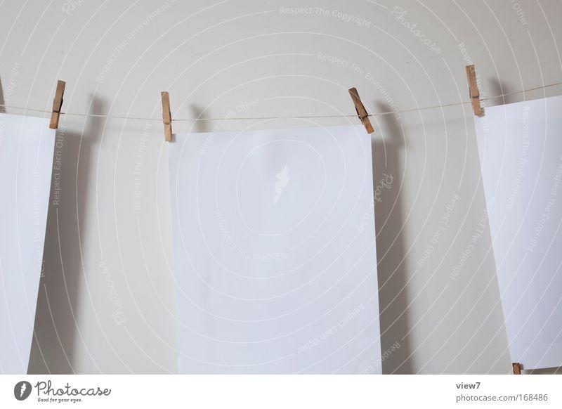 trocknen Schwarzweißfoto Gedeckte Farben Studioaufnahme Detailaufnahme Menschenleer Textfreiraum Mitte Starke Tiefenschärfe Papier ästhetisch Design Kreativität