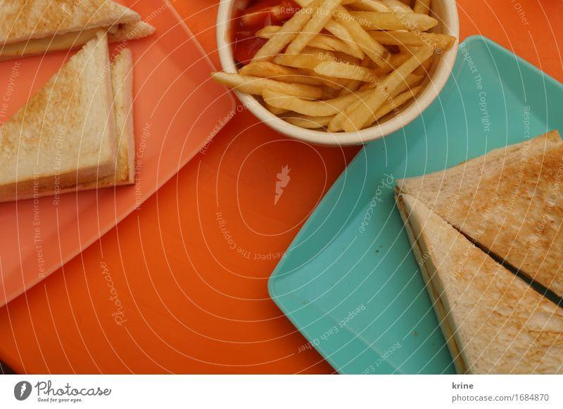 Sommer-Toast Ferien & Urlaub & Reisen Farbe Freude Essen Foodfotografie lustig orange Ernährung ästhetisch Fröhlichkeit retro Lebensfreude Coolness Pause trendy
