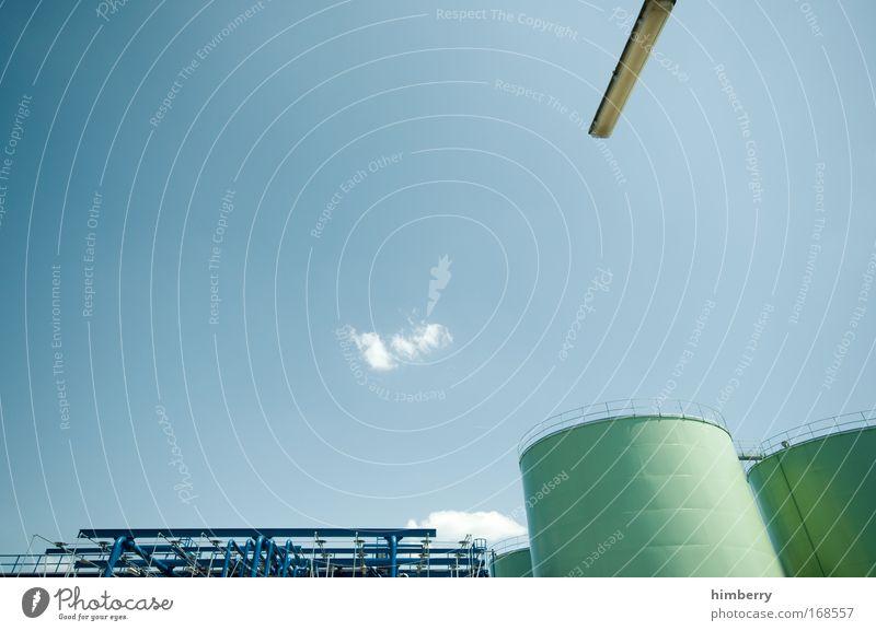 eiserne reserve Design Industrie Energiewirtschaft Zukunft Industriefotografie Wissenschaften industriell Tank Fortschritt Rohstoffe & Kraftstoffe Raffinerie Industriegelände