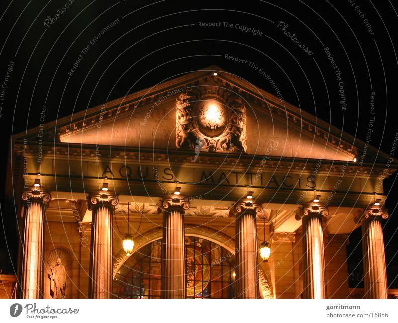 Oper Nacht Langzeitbelichtung Wiesbaden Konzert Musik