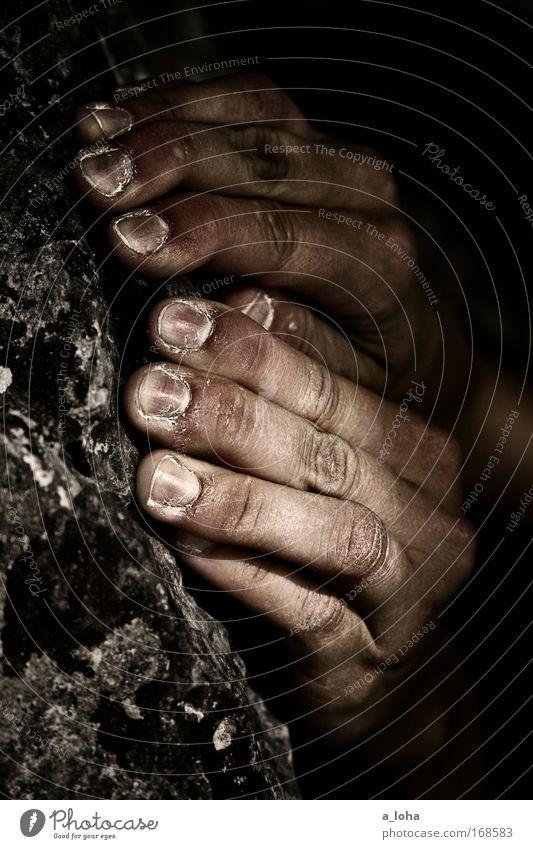 gripstone Natur Hand Berge u. Gebirge grau Bewegung Glück Stein Kraft Felsen Freizeit & Hobby Abenteuer Erfolg Finger Lifestyle beobachten Klettern