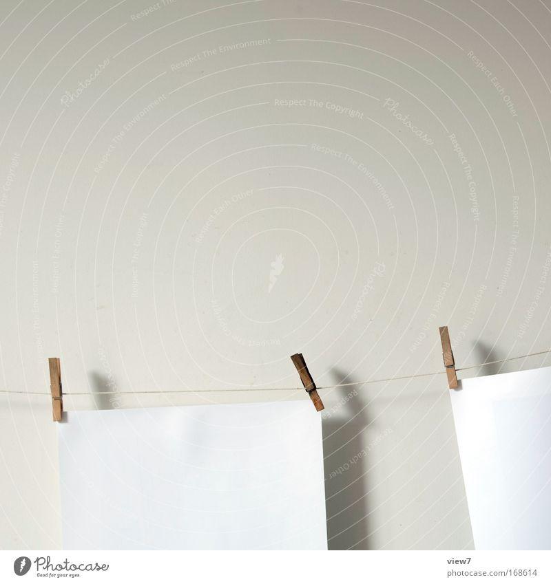 klammern weiß Holz Stimmung Raum Fotografie Kunst Design Papier ästhetisch neu Ziel Freizeit & Hobby Kultur Sauberkeit rein Bild