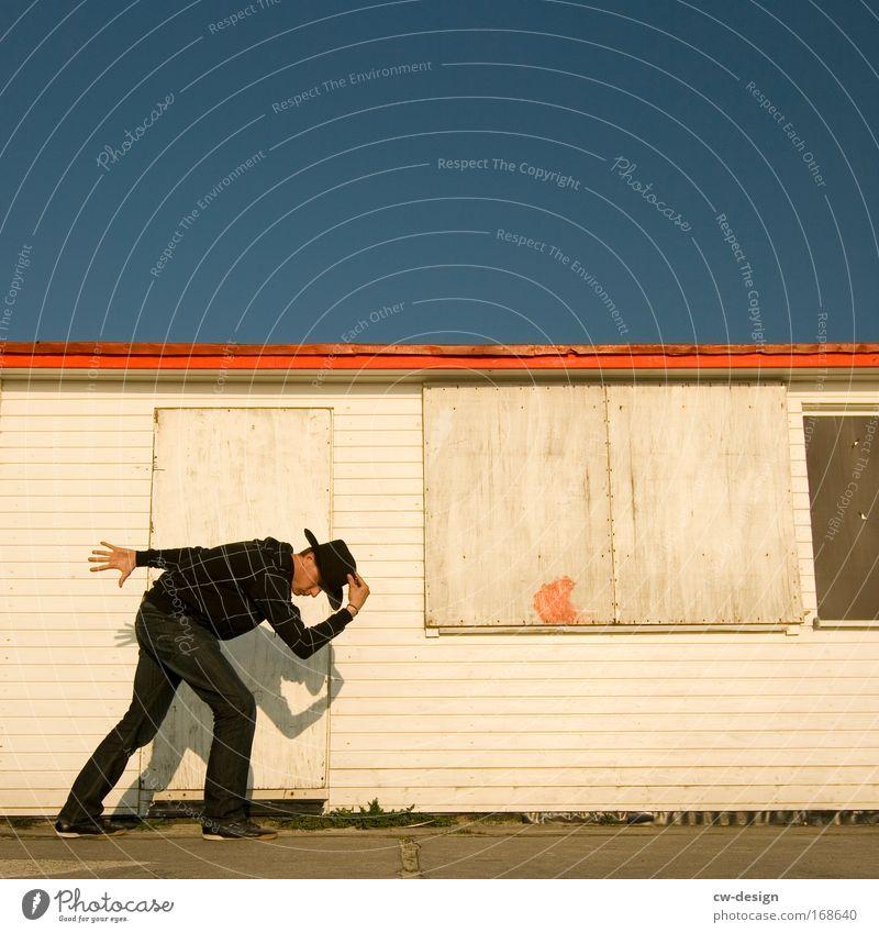 Ich sag mal Farbfoto mehrfarbig Außenaufnahme Textfreiraum links Textfreiraum rechts Textfreiraum oben Textfreiraum unten Tag Schatten Sonnenlicht