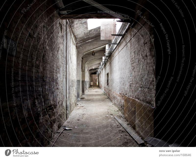 gang Gebäude Architektur Fabrik Verfall Industrieanlage Gang