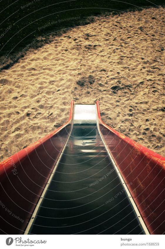 directo in voluptate Freude Wiese Spielen Bewegung Sand Kindheit Angst Kindheitserinnerung Lebensfreude Neigung Entwicklung abwärts Spielplatz steil Rutsche toben