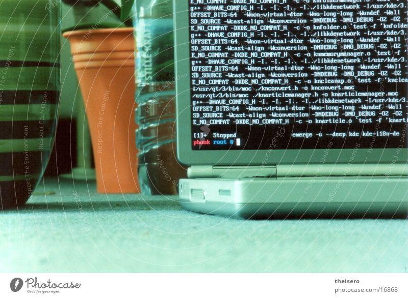 powerbook grün Computer Häusliches Leben Notebook Blumentopf Software Informationstechnologie Spielkonsole