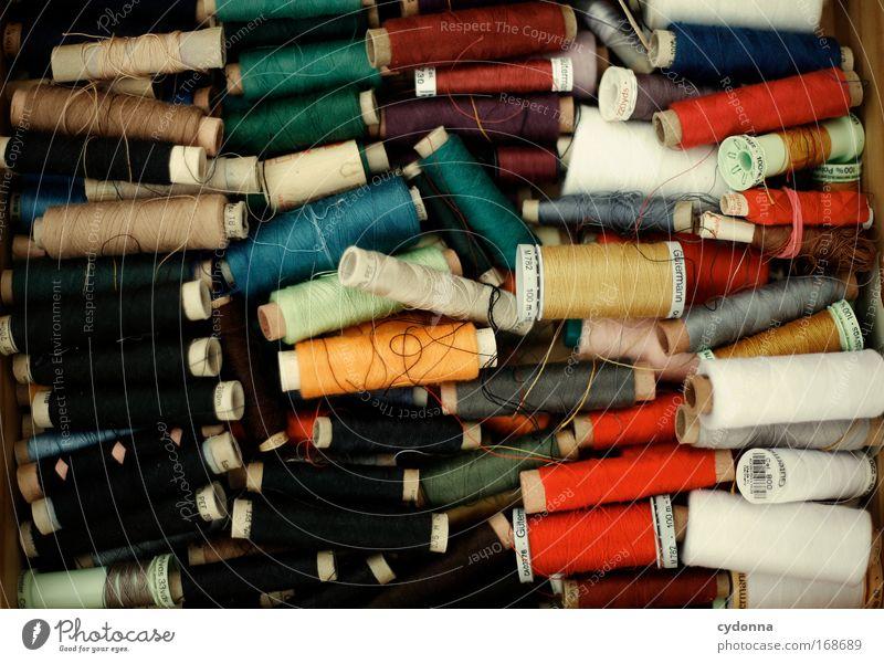 Fadenzieherin Farbfoto Nahaufnahme Detailaufnahme Menschenleer Textfreiraum links Textfreiraum rechts Textfreiraum oben Textfreiraum unten Textfreiraum Mitte