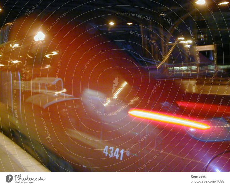 Thalys Nacht Eisenbahn Club Bildderwoche