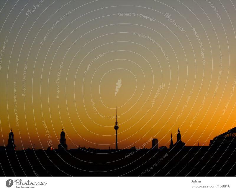 ...du fehlst mir so... Stadt Ferien & Urlaub & Reisen Ferne Erholung Berlin Gefühle Architektur Stimmung Zufriedenheit groß Tourismus Turm Romantik