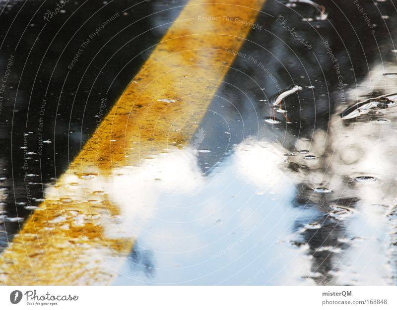 Wetterausblick. Farbfoto mehrfarbig Außenaufnahme Nahaufnahme Experiment abstrakt Menschenleer Tag Licht Reflexion & Spiegelung Sonnenlicht