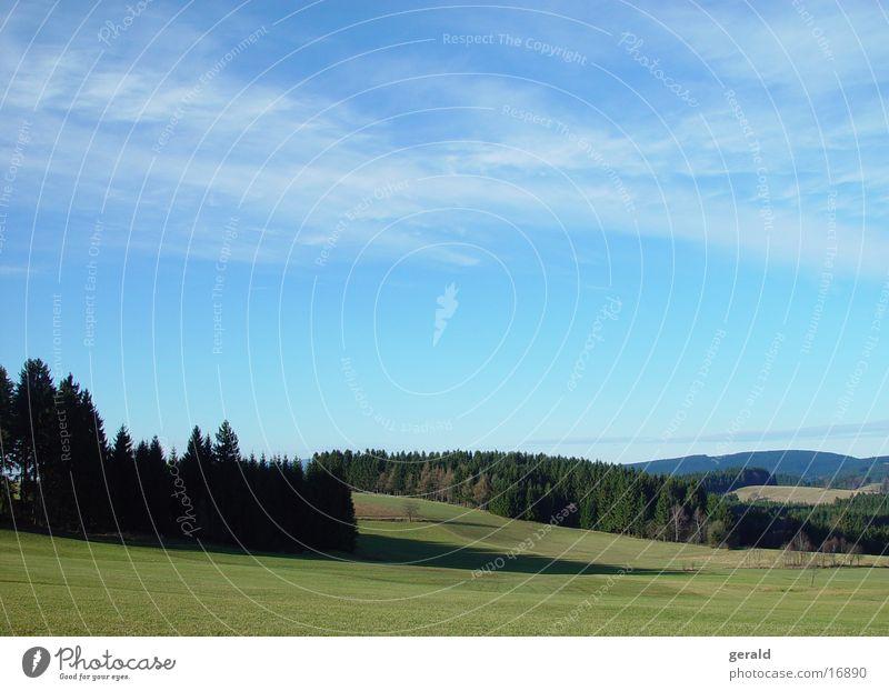 Mühlviertel1 Herbst Berge u. Gebirge Landschaft Feld Österreich
