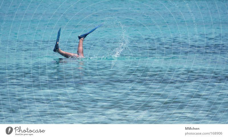 Nasser Spass Farbfoto Textfreiraum rechts Textfreiraum unten Tag Wellness Freizeit & Hobby Ferien & Urlaub & Reisen Tourismus Ausflug Sommer Sommerurlaub Sonne
