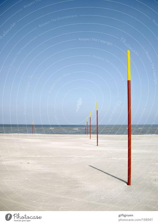 mikado Natur Himmel Sonne Meer blau Sommer Strand Ferien & Urlaub & Reisen gelb Ferne Erholung Landschaft Küste Umwelt Horizont Ausflug