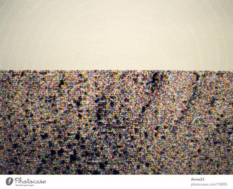 cmyk gelb Farbe zyan Raster Projektionsleinwand magenta Fototechnik