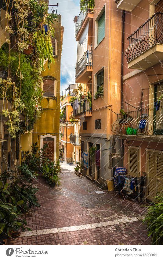 Sizilien / Taormina Wohlgefühl Zufriedenheit Ferien & Urlaub & Reisen Tourismus Ausflug Ferne Sightseeing Städtereise Sommer Sommerurlaub Sonne Italien Europa