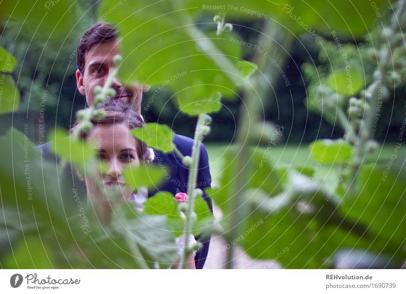Schönster Tag | Durch die Blume Feste & Feiern Hochzeit Mensch maskulin feminin Junge Frau Jugendliche Junger Mann Erwachsene Paar Partner Gesicht 2 18-30 Jahre