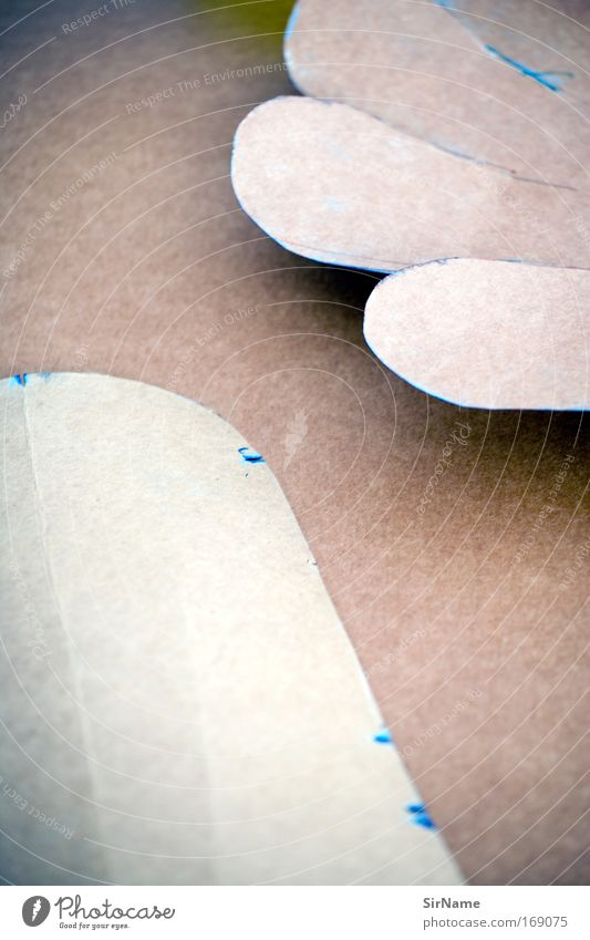 106 [Form und Farbe] braun Kunst Arbeit & Erwerbstätigkeit elegant Schilder & Markierungen Beginn ästhetisch planen Papier Industrie Kreativität Bildung Kultur