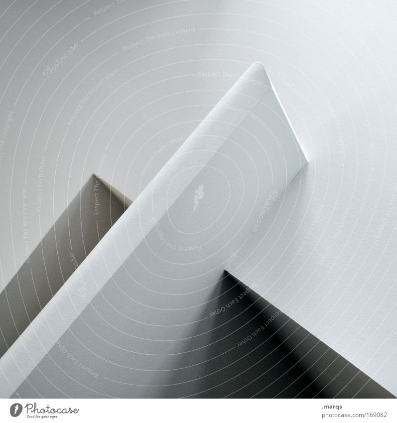 x weiß schwarz Wand Stil Mauer Linie Architektur Design elegant Beton ästhetisch einfach Sauberkeit einzigartig außergewöhnlich