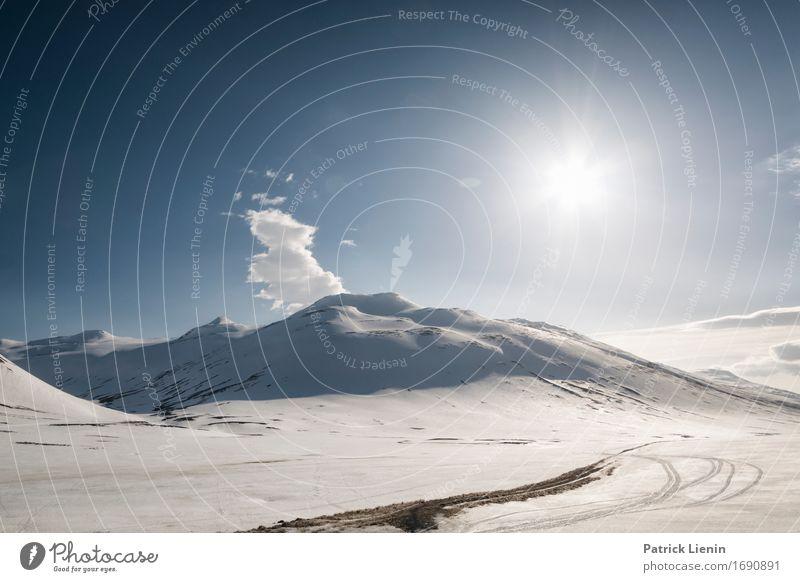Highlands Leben Wohlgefühl Zufriedenheit Sinnesorgane Erholung Ferien & Urlaub & Reisen Abenteuer Sonne Insel Winter Schnee Berge u. Gebirge Umwelt Natur